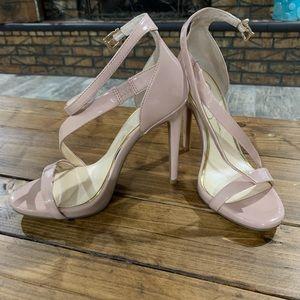 Jessica Simpson Blush Patten Leather Heels